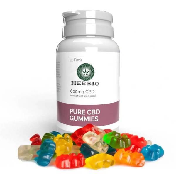herb40 cbd gummies uk for stress anxiety depression chronic pain