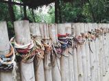 Massive graveyard with colourful bracelets