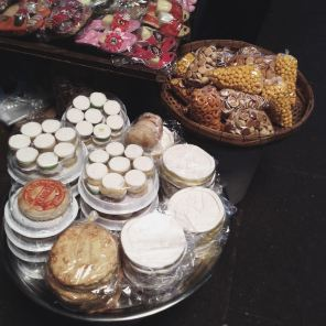 Variety of local cakes