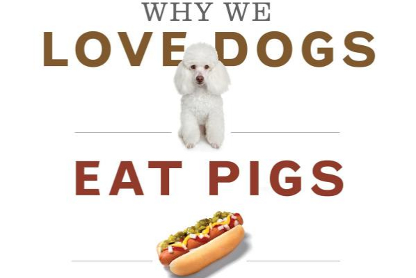love dogs, eat pigs, wear cows-The Best Vegan Books