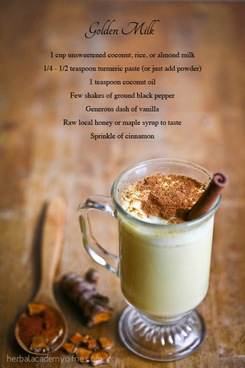 turmeric for health - golden milk