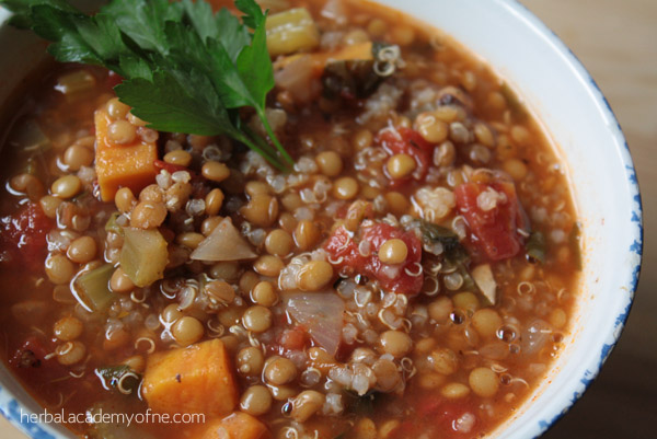 Lentil and Quinoa Stew by vegan pact