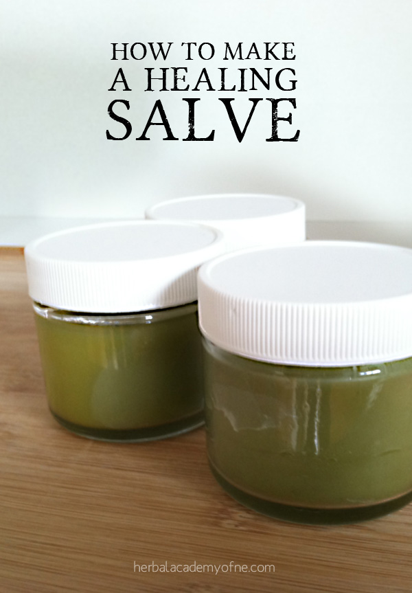 how to make a healing salve by HANE