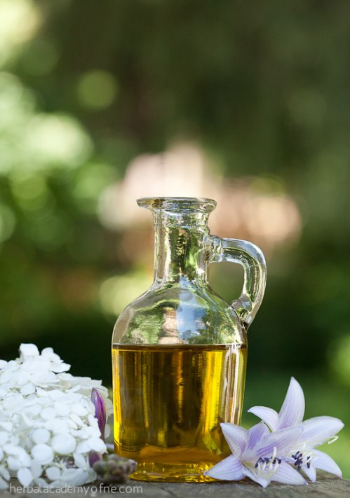 Lavender infused oil recipe