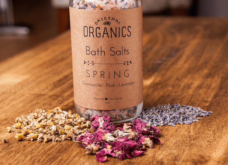 Artisan Bath Salts by Original Organics - Herbal Body Care Products To Buy or DIY?