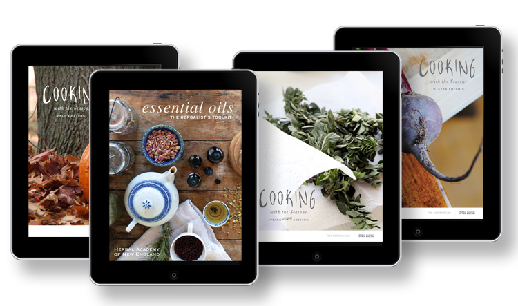 The Herbalists Toolkit Essential Oils Ebook - Ipad preview