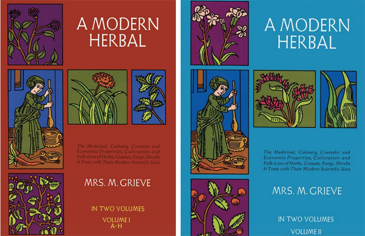 A Modern Herbal by Mrs. Grieve