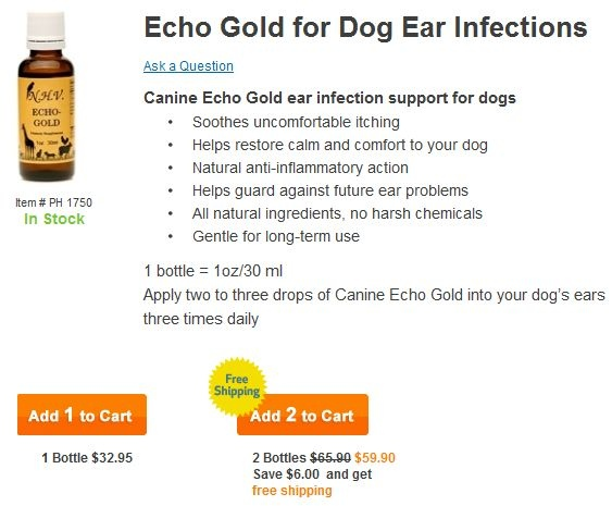 All natural, holistic dog ear infections treatments   Herbal Dog ...