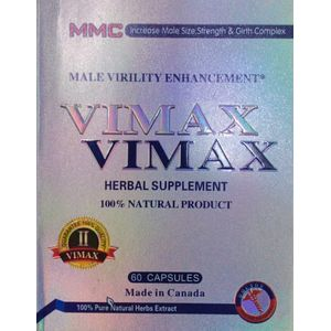 Vimax Sliver 60 Capsules Pack