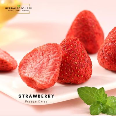 Natural freeze dried strawberry 冻干草莓
