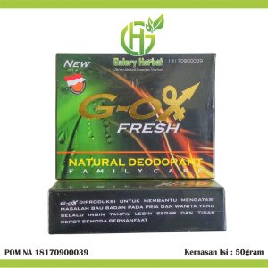 G-OX Fresh Natural Deodorant