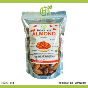 Kacang Almond Kulit Panggang 250gram