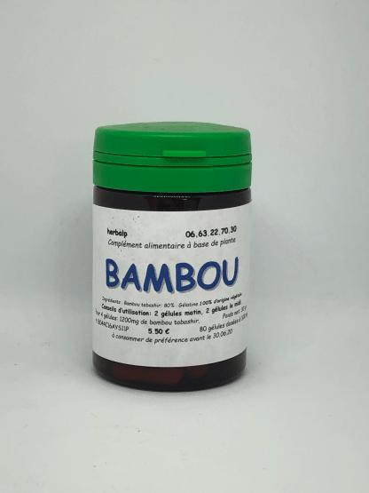 gélule-de-plantes-bambou