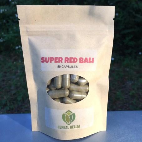 Super Red Bali - 50 Capsules