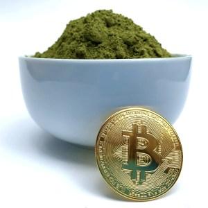 Kratom with a Bitcoin