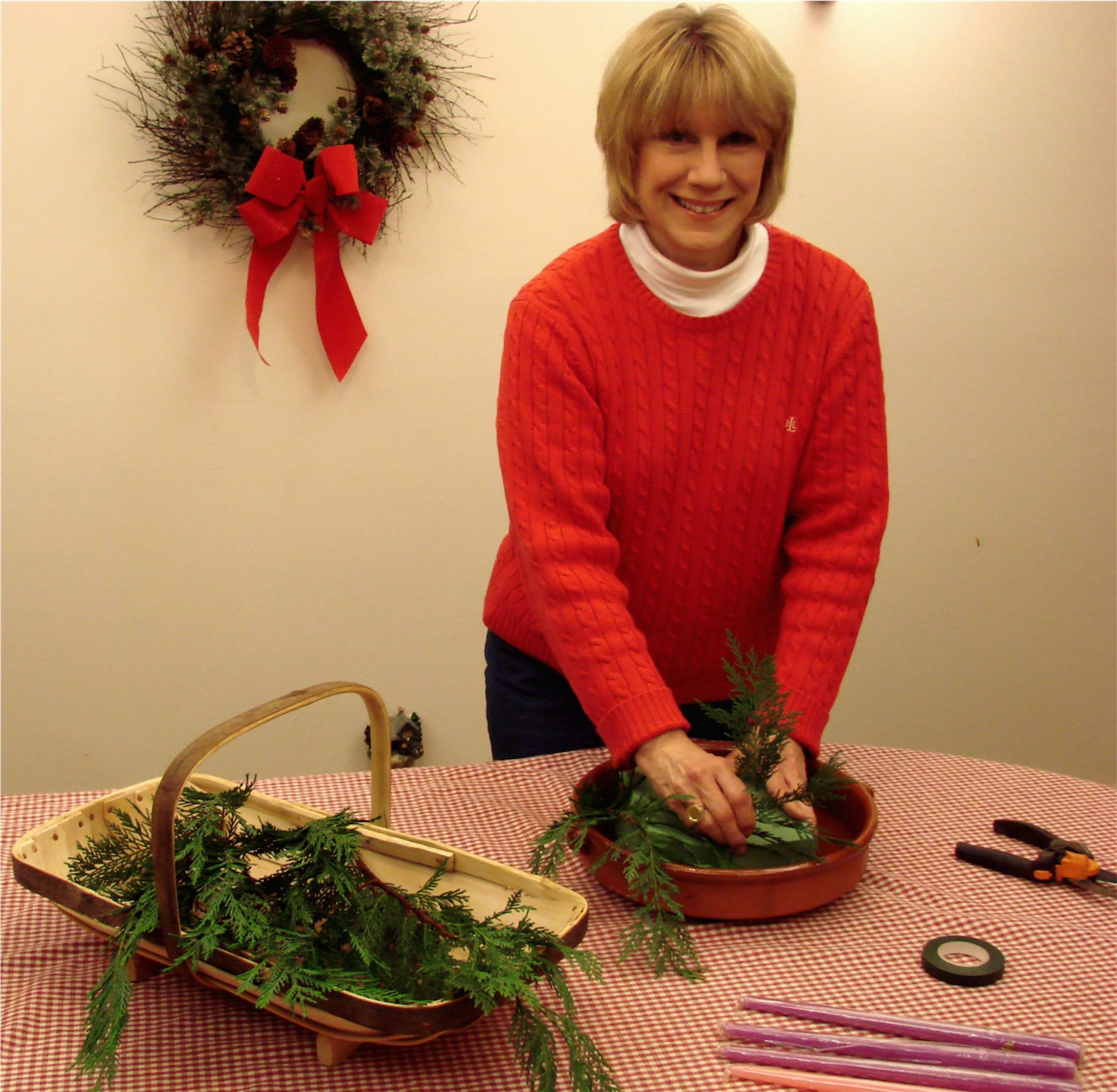 Advent Wreath Making In Under One Hour