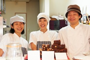 The Three Caketeers: Mitsuko, Kazuko and Shinya