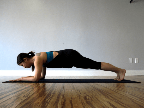 Forearm Plank (also known as Dolphin Plank)