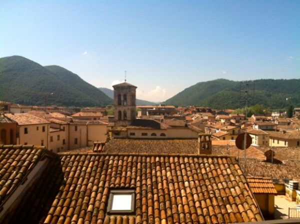 Rieti rooftops