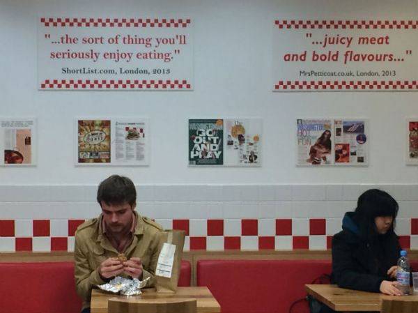 Five Guys, Best Burger in London