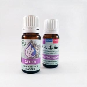 Organický CÉDER, esenciálny olej
