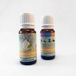ORGANICKÁ CITRÓNOVÁ TRÁVA, esenciálny olej