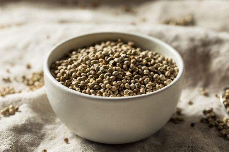 Organic Roasted Hemp Seeds