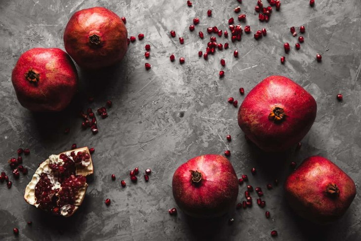 Pomegranates on the Table