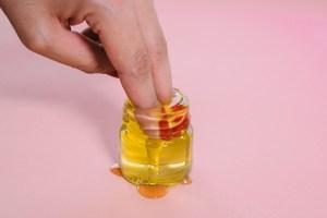 finger oil