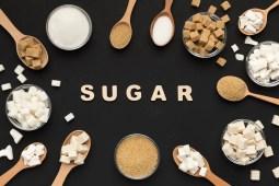 various types of sugar