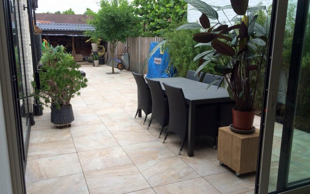 Natuurstenen terrasvloer