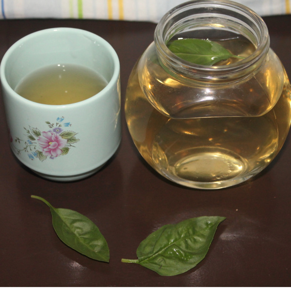Simple Stress Busting Basil Tea Recipe