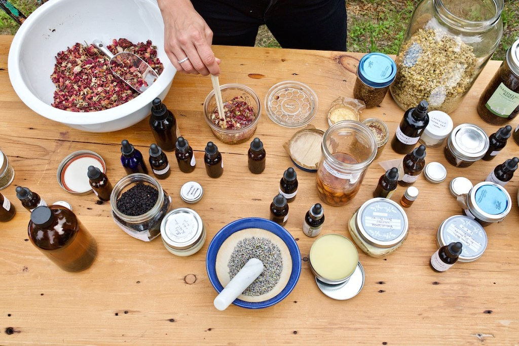 DIY herbal products
