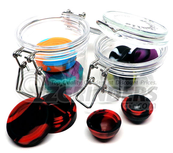 Oil slick non-stick concentrate containers are some of the best around.