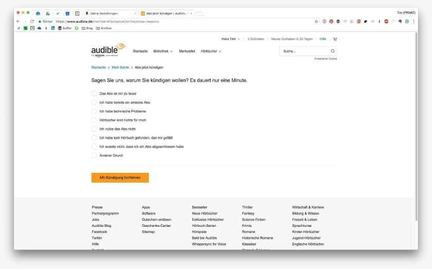 Audible Churn Prevention - Step 2