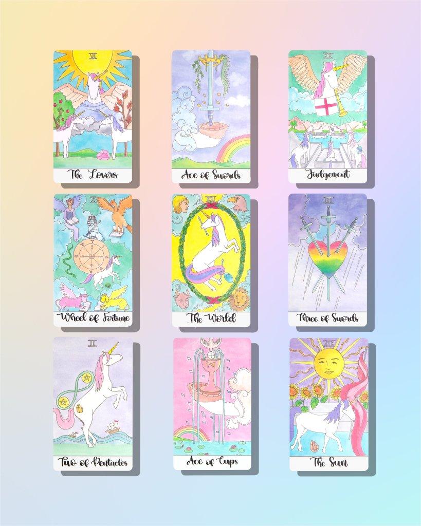 Crystal Unicorn Tarot by Pamala Chen