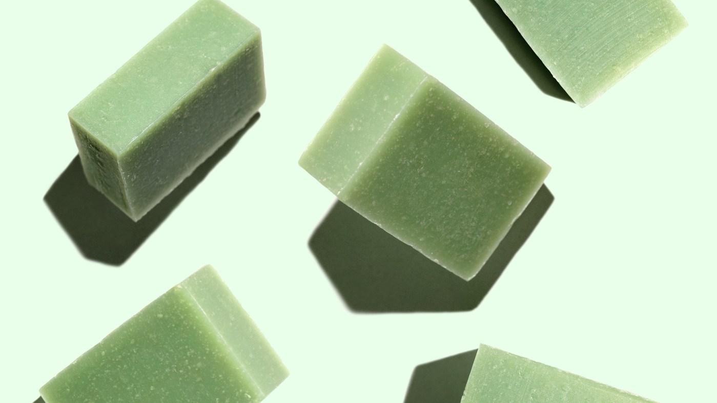 Emerald 50mg CBD Cleansing Bar Soap