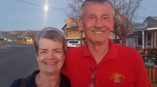 Cheryl & Phil, we met in AZ and had dinner together many times (including Christmas Day)