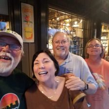 My sister Marilynn and husband Rick, met them near Pensacola for dinner