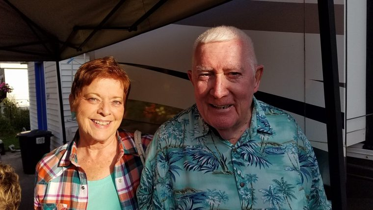 Donna & William, just met at Baldwin, MI summer of '17