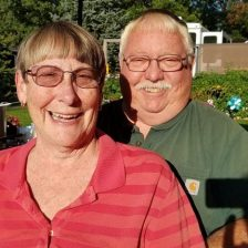 Joanne & Chuck, (Baldwin, MI), they're our Road Tripper partners, summer of '17