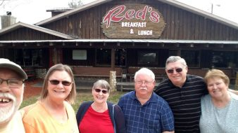 Deb & Mike / Joann & Chuck at Red's Diner