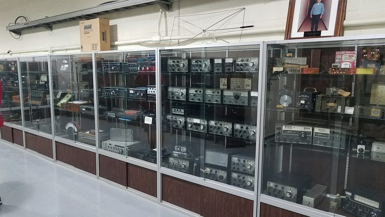 Early ham radio equipment by the R.L. Drake Company of Miamisburg, OH