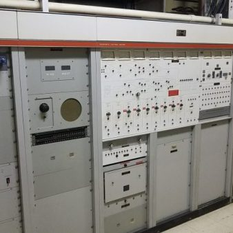 One of the large switching systems for the various transmitters