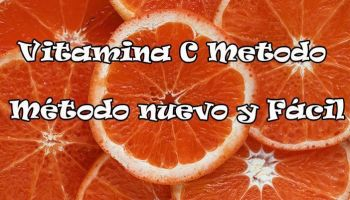 Método Fácil Aplicación Vitamina C