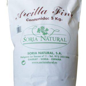 Arcilla Roja Fina – Soria Natural – 5 kg
