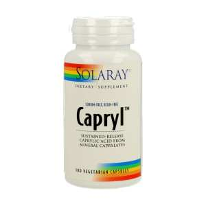 Capryl – Solaray – 100 cápsulas