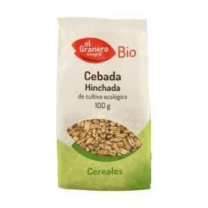 Cebada Hinchada Bio – El Granero Integral – 100 gr