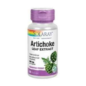 Alcachofa ( Artichoke ) – Solaray – 60 cápsulas