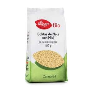 Bolitas de Maiz con Miel Bio – El Granero Integral – 400 gr